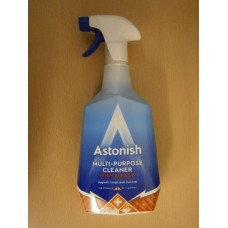 (7977) Astonish Trigger Multi Surface Cleaner with Bleach 750ml