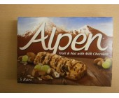 (898) Alpen Fruit & Nut with Choclate 5 pack Dated 23 Feb 2018