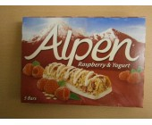 (898) Alpen Raspberry & Yogurt 5 pack Dated 27 March 2018