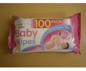 (801) Baby Wipes Fragrance Free 100 pack