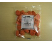 (910) Bag Sweets Foam Strawberries 225g