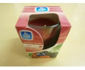 (801) Pan Aroma Candle Wild Berries in Glass Holder