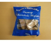 (898) (Bag) Churchfields Chocolate Wafers 400g