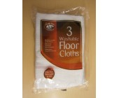 (8011) 3 Washable Floor Cloths these are single packs