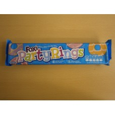 (898) Foxs Party Rings 125g