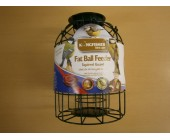 (62) Green Fat Ball  Squirrel Guard Feeder
