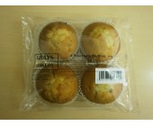 (9) Grays Blueberry 4 pack Muffins