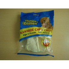 (71) Munch & Crunch Rawhide Chew Chips 128g
