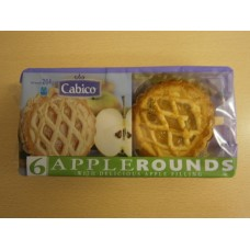 (9) Cabico Rounds Apple 6 pack