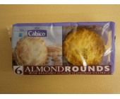 (9) Cabico Rounds Almond 6 pack
