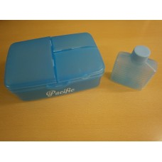 (801) Pacific 4 Compartment + Water Container Lunch Box