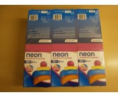 (801) Plasters Assorted Neon Plasters 80pk