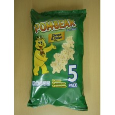 (89) 1A Pom Bear Cheese and Onion 5 pack