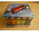 (01) Sonar Flint Disposable Lighters 50 pack