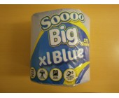(81) Soo Big XL Blue ind wrapped Center Feed 275 sheets