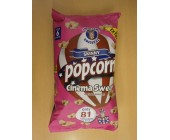 (89) A Uncle Sams Skinny Popcorn Cinema Sweet 6 pack